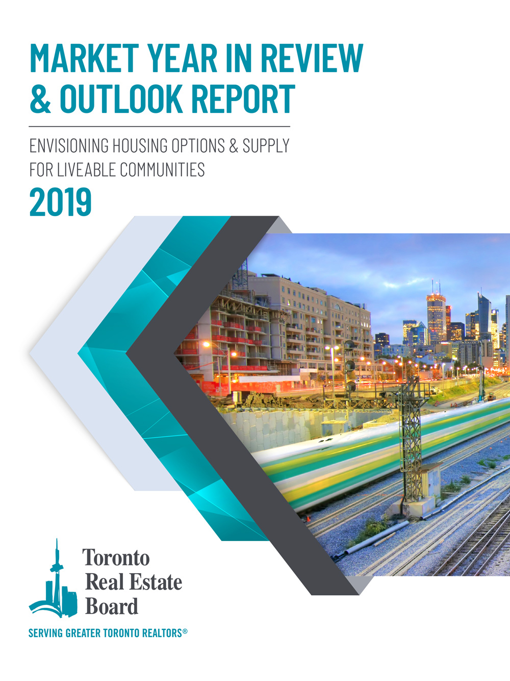 Market Year In Review & Outlook Report 2019 cover.