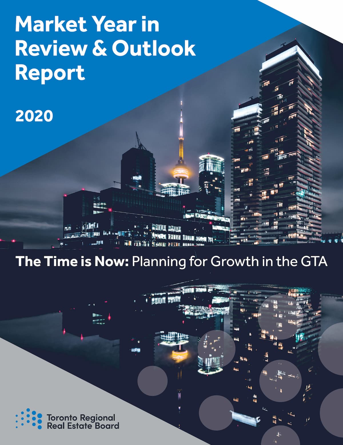 Market Year In Review & Outlook Report 2020 cover.